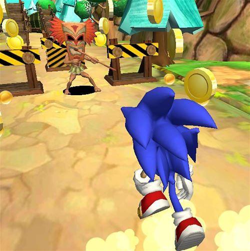 Blue Hedgehog Run